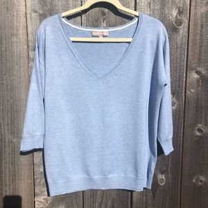 Banana Republic Marilyn Sweater Light Blue. Size M